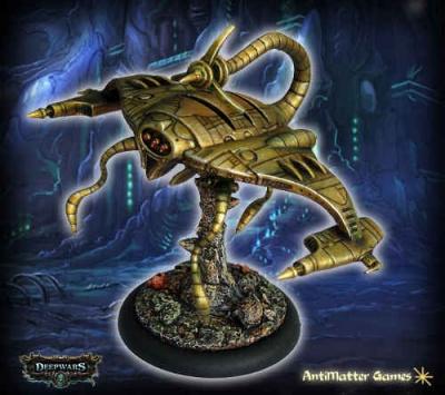 Mantaform Hunter-Killer Mech Construct