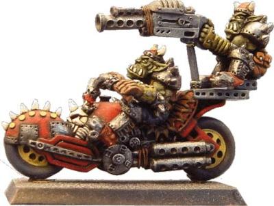 Ork-Biker