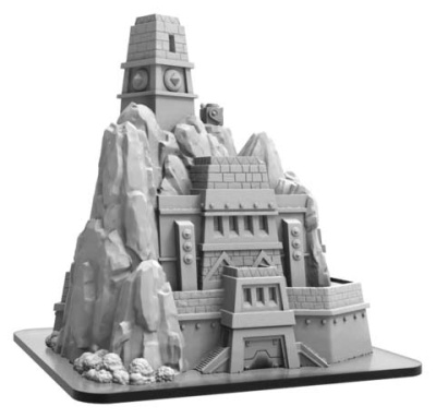 Jungle Fortress - Monsterpocalypse Building (resin)