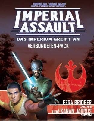 SW: Imperial Assault Ezra Bridger und Kanan Jarrus