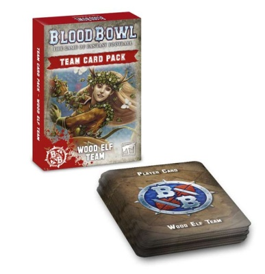 Blood Bowl: Wood Elves-Karten ENGLISCH