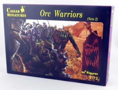 Caesar Miniatures: Orc Warriors Sets2 (1/72)