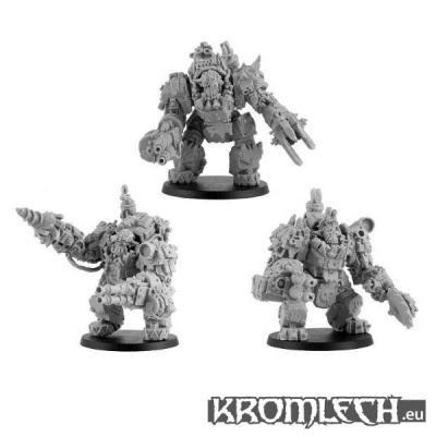 Orc Juggernaut Mecha Armour Squad (3)