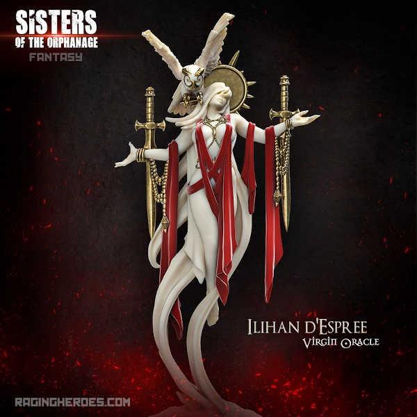 Ilihan d'Espree, Virgin Oracle (Sisters - F)