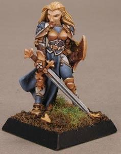 Finari, Female Justicar