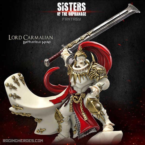 Lord Carmalian, Battlefield Hero (Sisters - F)