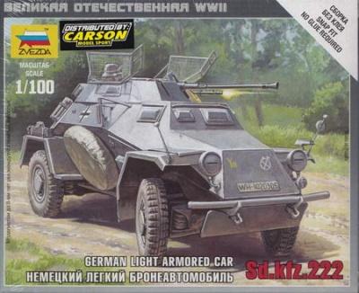 1:100 Wargame AddOn: Panzerspähwagen Sd.Kfz. 222