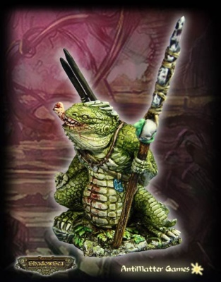 Ridgeback Lizardman Gorger