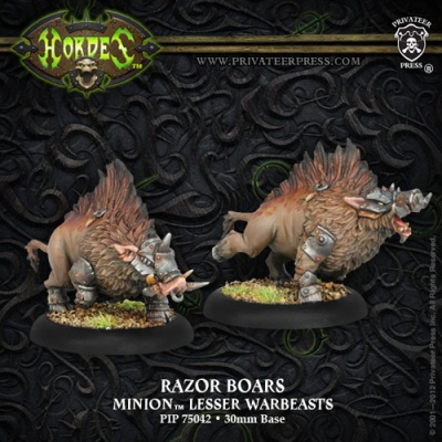 Minion Razor Boars Farrow Lesser Warbeasts (2)