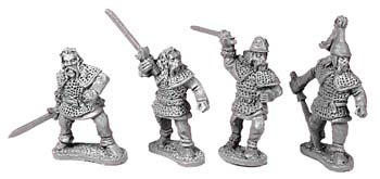 Gallic Soldurii (random 8 of 4 designs)