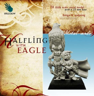 Halfling with Eagle