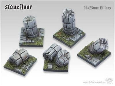 Stonefloor - 25x25mm Säulen (5)