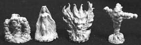 Lesser Elementals (4)