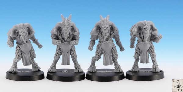 Beastmen Linemen (4)