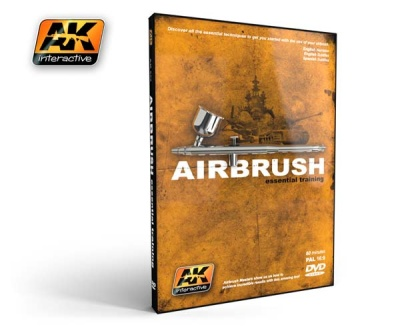 DVD Airbrush essential trainig (PAL)