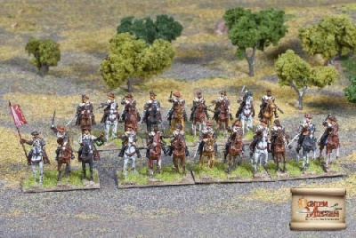Reiters with Arquebuses