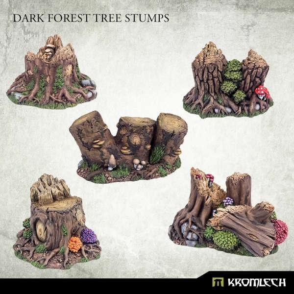 Dark Forest Tree Stumps (5)