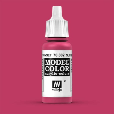 Model Color 041 Sunset Rot (Sunset Red) (802)