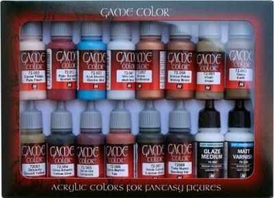 Game Color Advanced Set (16)