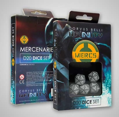 Mercinaries D20 Dice Set (5)