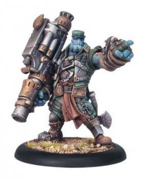 Trollblood Captain Gunnbjorn Warlock