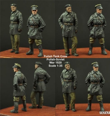 1:35 Polish FT17 Tank Crew set (2)