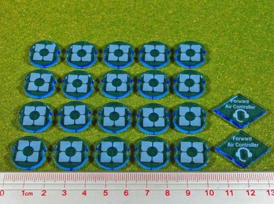 Dropzone, Republic Faction, Battle Group Tokens (22)