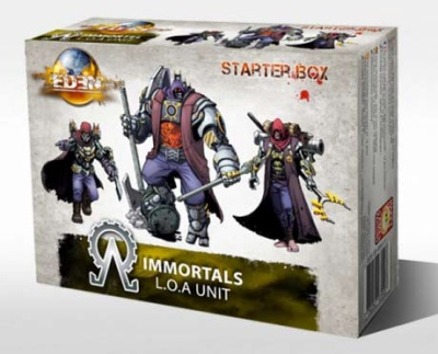 Immortals Starter box - limited resin edition (IMM)