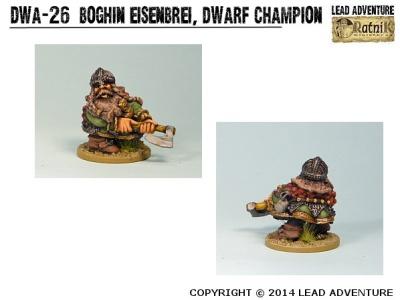 Boghin Eisenbrei, Dwarf Champion (1)