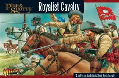 Pike&Shotte Royalist Cavalry  (12) (OOP)