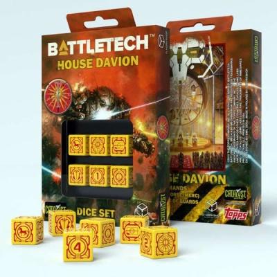 Battletech House Davion D6 Dice (6)
