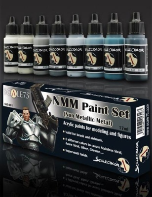 Scale 75: NMM Steel Paint Set (8)