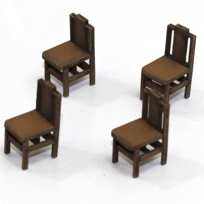 Square Back (B) Chair (Hell)