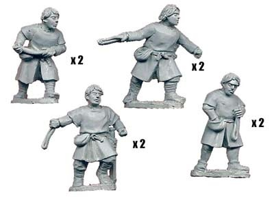 Spanish Slingers (8 figs)