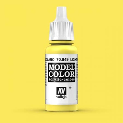 Model Color 010 Schwefelgelb (Light Yellow) (949)