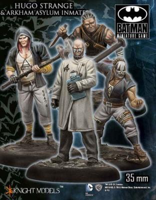 Hugo Strange & Arkham Asylum Inmates