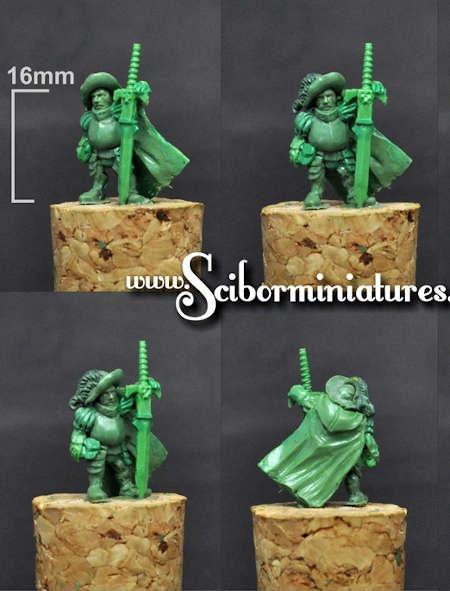 15mm Sword Master