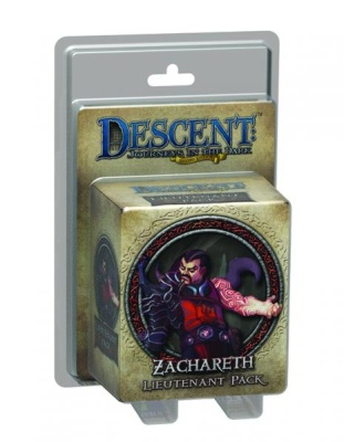 Descent Road to Legend Miniatures: Zachareth
