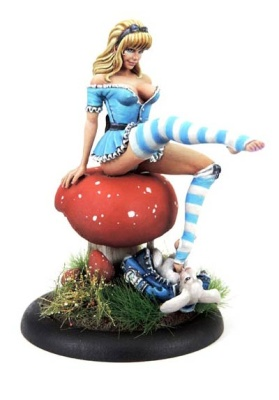 21st Century Pin Ups: Alice in Wonderland