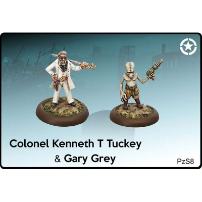 Colonel Kenneth T Tuckey & Gary Grey