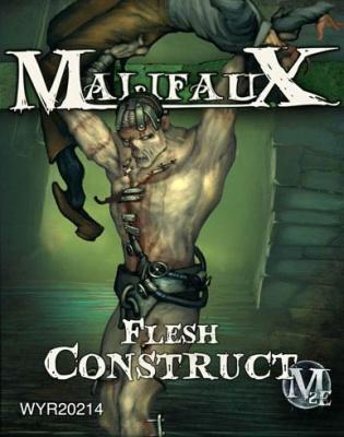 Flesh Construct (w. Victim)