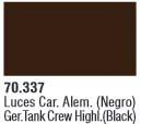 Panzer Aces 037 Highlight German (Black) 17 ml
