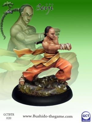 Seiji, Young Monk