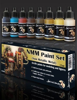 Scale 75: NMM Gold Paint Set (8)