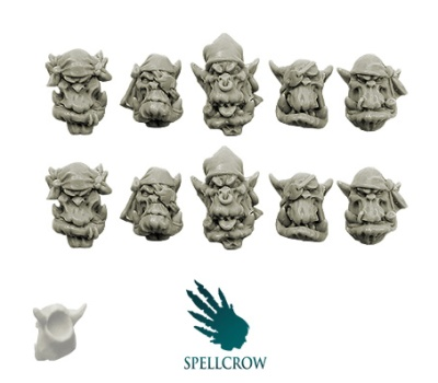 Freebooters Orcs Heads #2 (10)