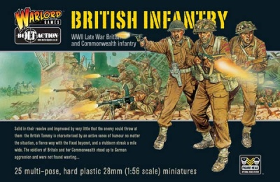 Bolt Action - British Infantry (25)