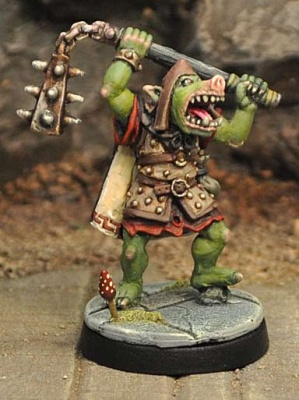 Orc with Heavy Flail