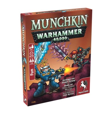 Munchkin Warhammer 40.000 (deutsch)