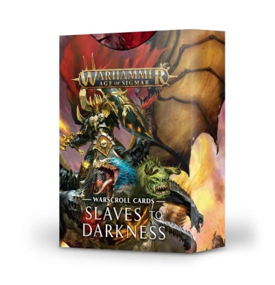 Warscroll Cards: Slaves to Darkness ENGLISCH