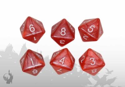 Würfelset (W8) (Rot)